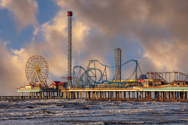 Galveston Pier Sunrise