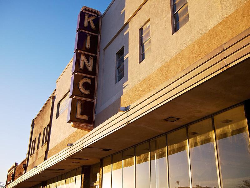 Fading Modernism, KINCL Building - Taylor, Texas