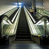 Escalators, Terminal D - DWF Airport, Texas