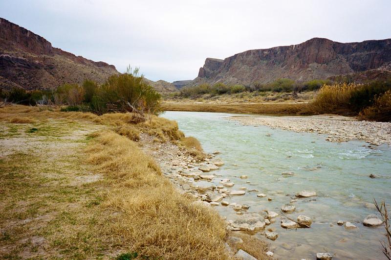 Rio Grande from Contrabando - Big Bend Ranch State Park, Texas