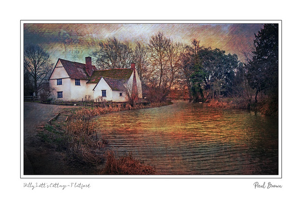 Willy Lotts Cottage 2 Framed A3