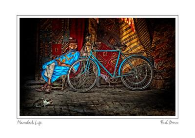 Marrakech Lifestyle framed A3