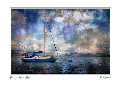 Shanty Isle of Skye Framed A3