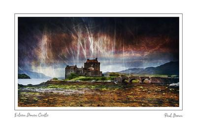 Eilean Donan Castle Framed A3