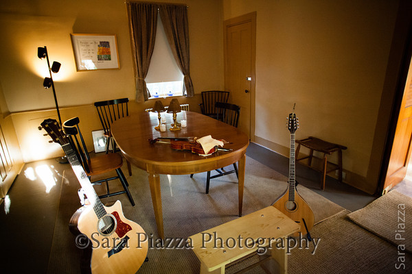 Dining/music room. This room will also feature my BW Irish musician photos.