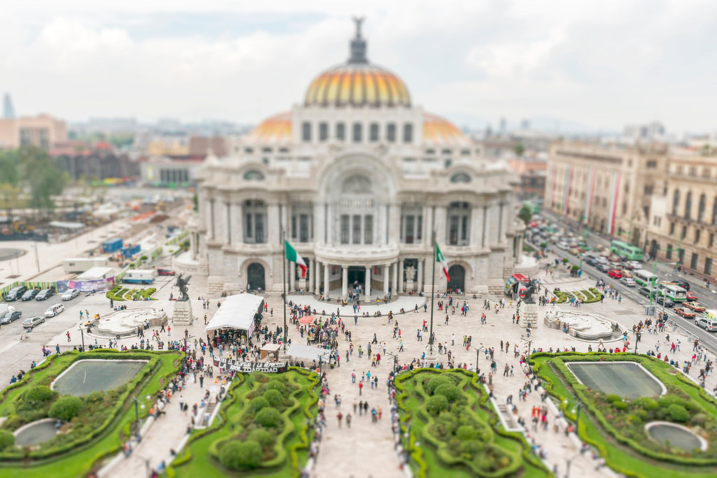 Palacio de las Bellas Artes - Mexico City, Mexico