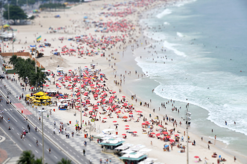 Copacabana Beach - Rio de Janiero, Brazil