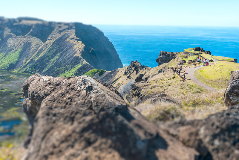 Rano Kau - Easter Island, Chile