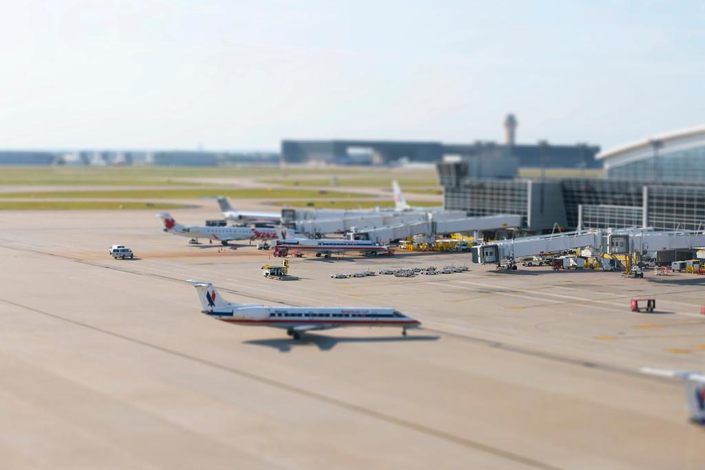 Airport Terminal, Dallas Forth Worth - Dallas, Texas