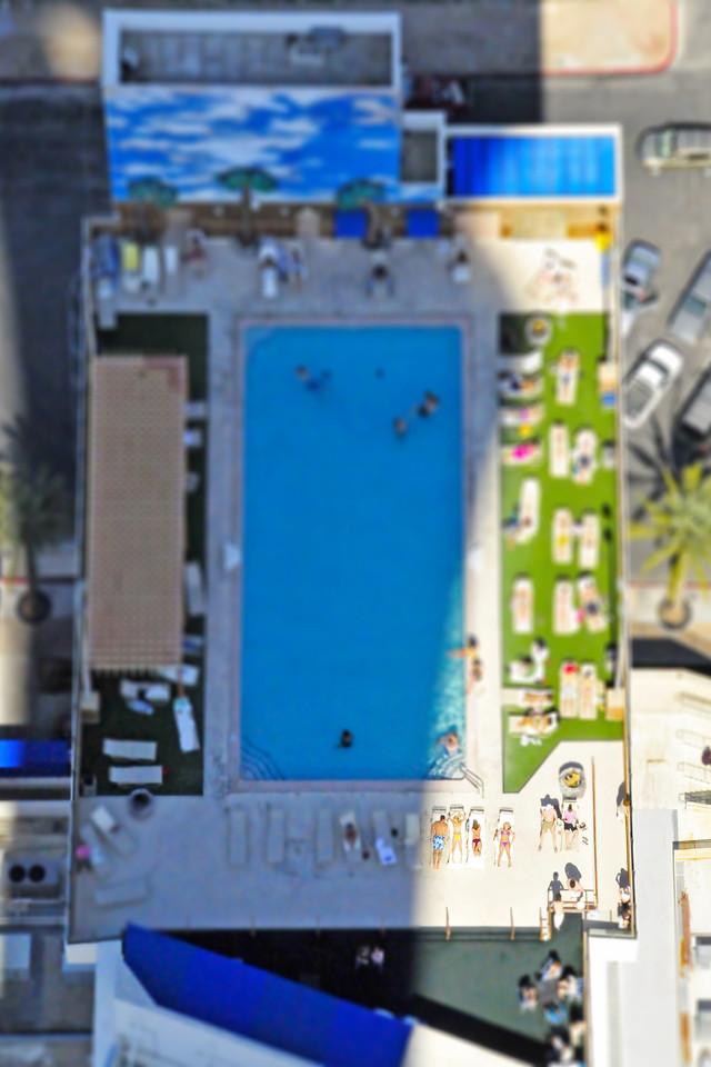 Paris Pool - Las Vegas, Nevada