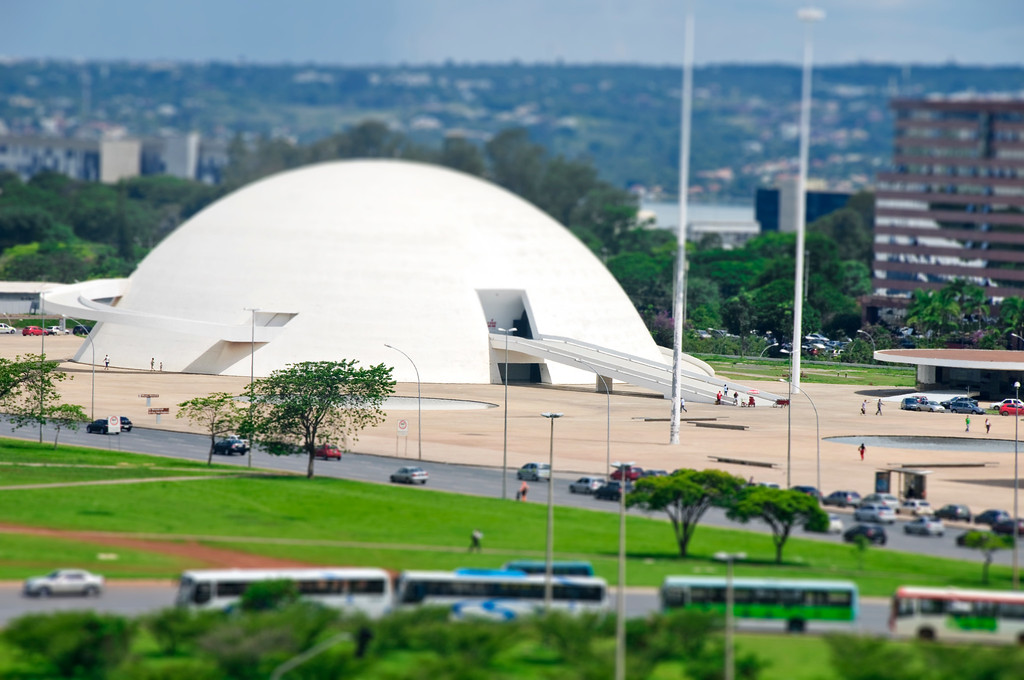 Museu National - Brasilia, Brazil
