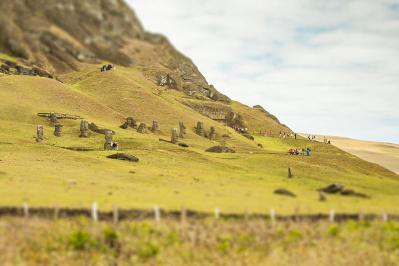 Rano Raraku - Easter Island, Chile