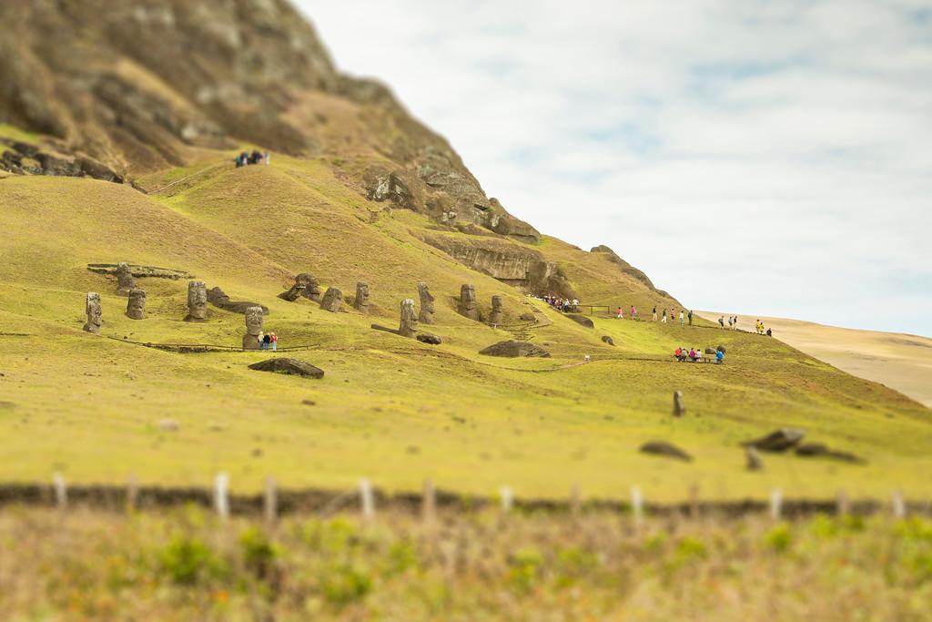 Rano Raraku - Easter Island, Chile