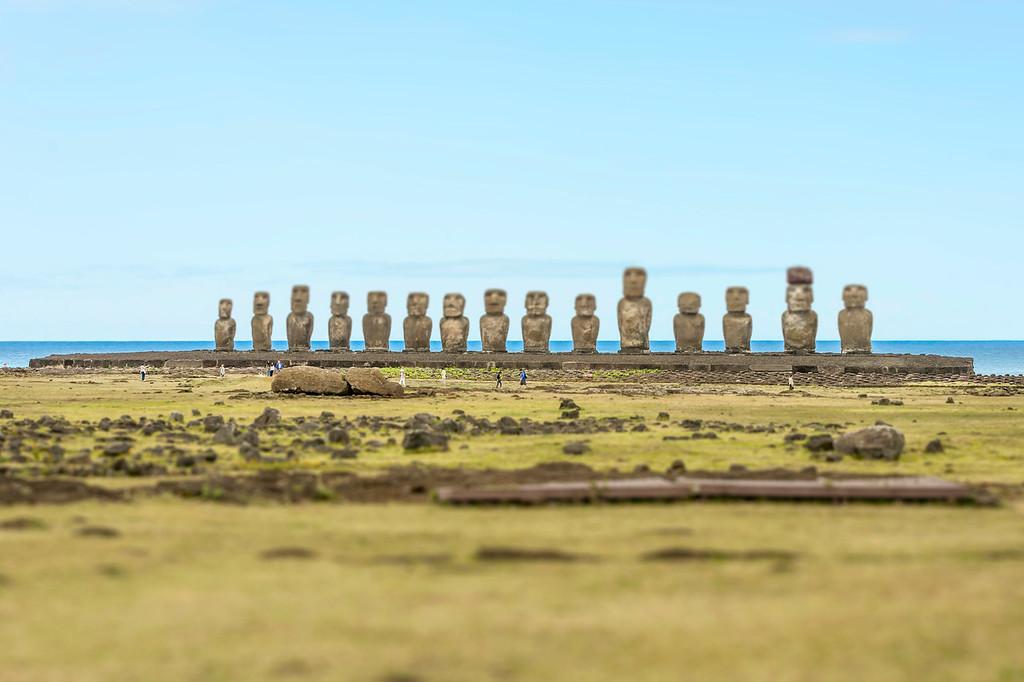Ahu Tangariki 1 - Easter Island, Chile