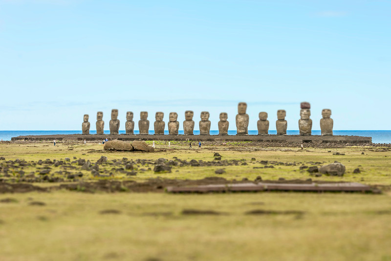 Ahu Tangariki 1 - Easter Island, Chile