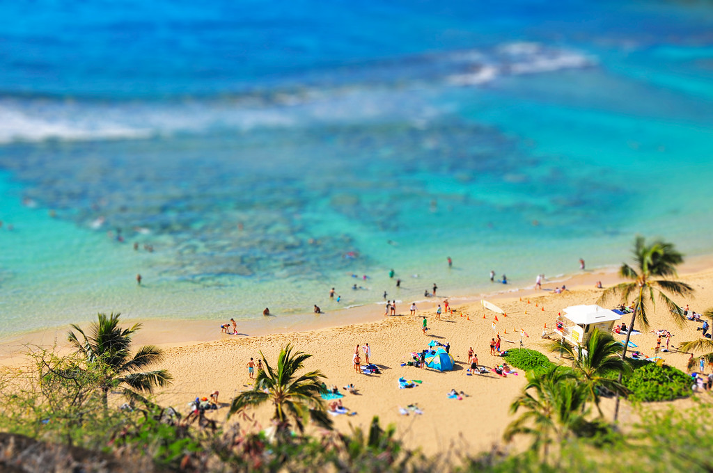 Waikiki Beach - Honolulu, Hawaii