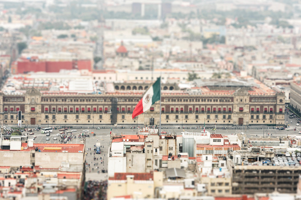The Zocalo - Mexico City, Mexico