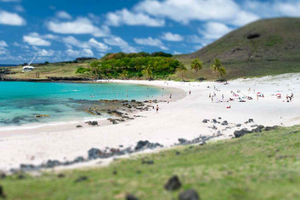 Anakena Beach - Easter Island, Chile