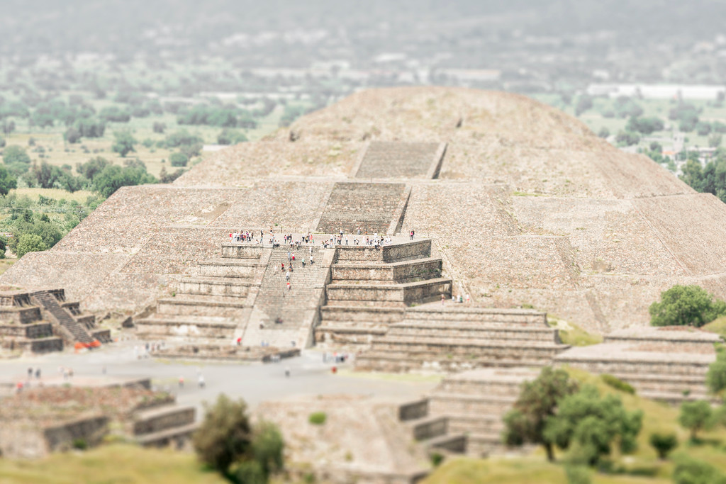 Teotihuacan, Pyramid of the Moon - Mexico City, Mexico