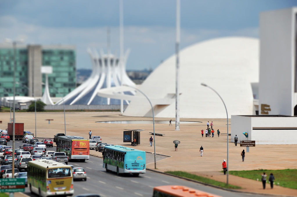 Cathedral of Brasilia - Brasilia, Brazil
