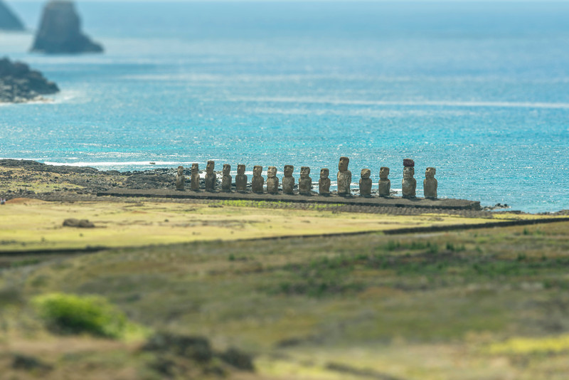 Ahu Tangariki 2 - Easter Island, Chile