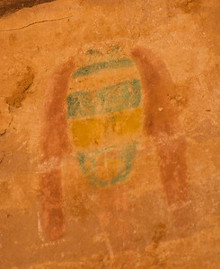 Green Mask Pictograph