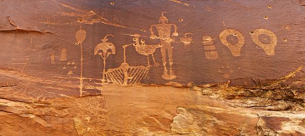 Wolfman Panel Petroglyphs