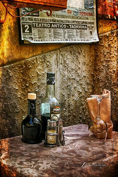 Sicilian Sidewalk ~ A Still Life...