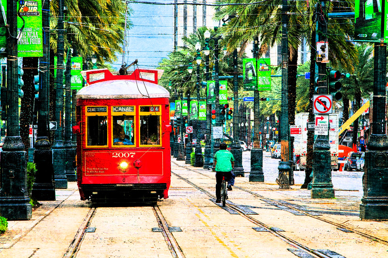 Canal Street ~ New Orleans