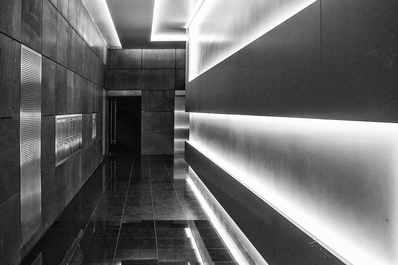 Urban Lines of Light...