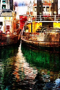 Port of Color - Cararra, Italy