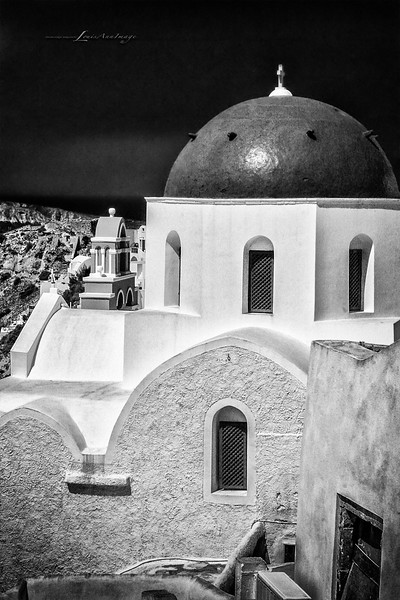 Dome of Santorini Greece