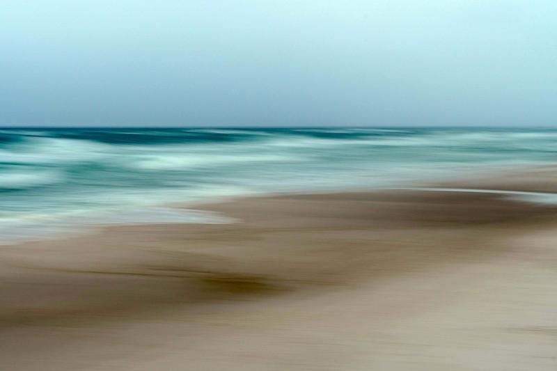 Sky ocean sand