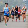 2017 Bellingham Bay Marathon - Lead Runners