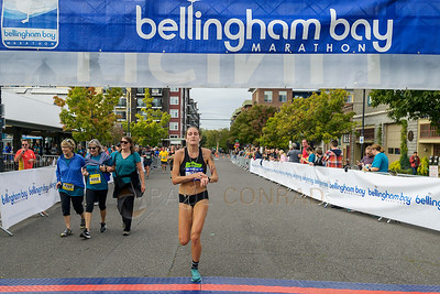 2017 Bellingham Bay Marathon - Courtney Olsen wins Women's Division