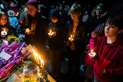 Candlelight Vigil for Lynn Heimsoth-  0116
