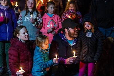 Candlelight Vigil for Lynn Heimsoth-  0228