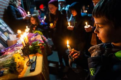 Candlelight Vigil for Lynn Heimsoth-  0113