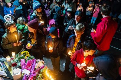 Candlelight Vigil for Lynn Heimsoth-  0126