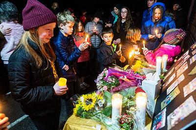Candlelight Vigil for Lynn Heimsoth-  0153
