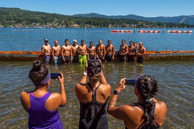 Nooksack War Canoe Race