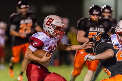 Bellingham vs Blaine football 0519