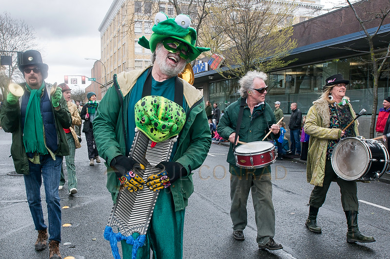 © Paul Conrad/The Bellingham Herald -  Images from the St. Patrick's Day Parade along Cornwall Avenue in downtown Bellingham, Wash., on Saturday afternoon Mar. 14, 2015.