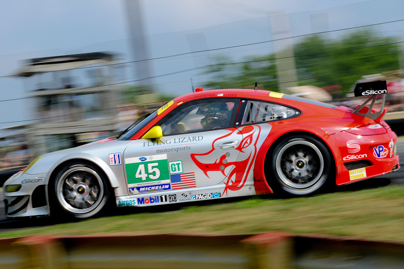American Le Mans Series Flying Lizard Motorsports during the Mid-Ohio Sports Challenge at Mid-Ohio in Lexington,Ohio.