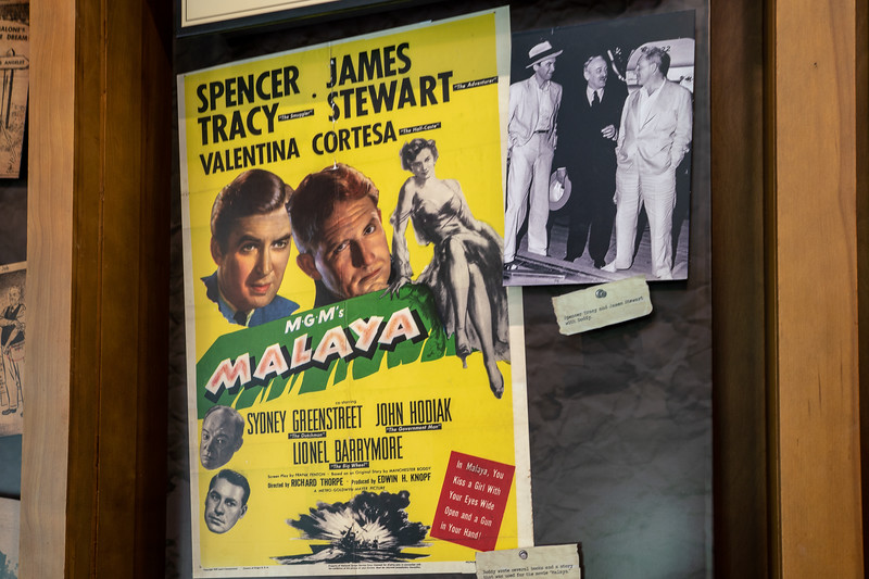 Movie Poster and Photo of James Stewart, Manchester Boddy, and Spencer Tracy
