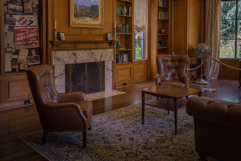 Living area, Boddy House
