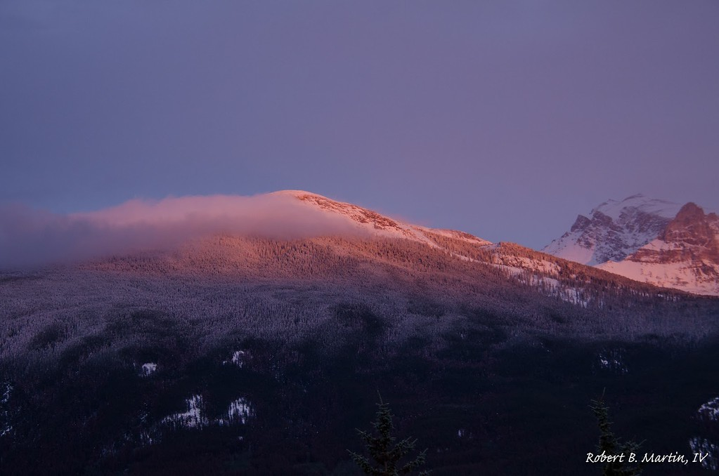 Sunset in Jasper