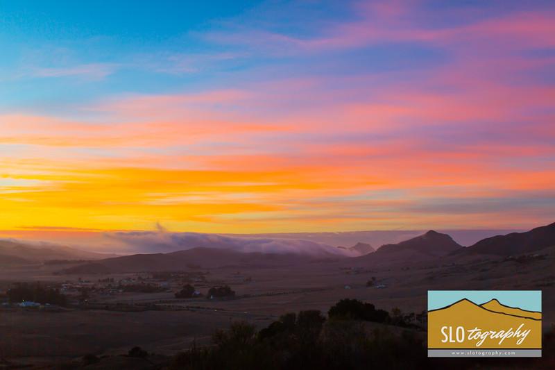 Sunrise West of Cerro San Luis
