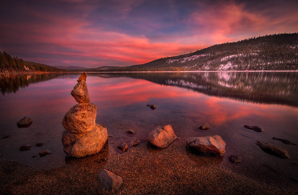 Cairn Reflecting