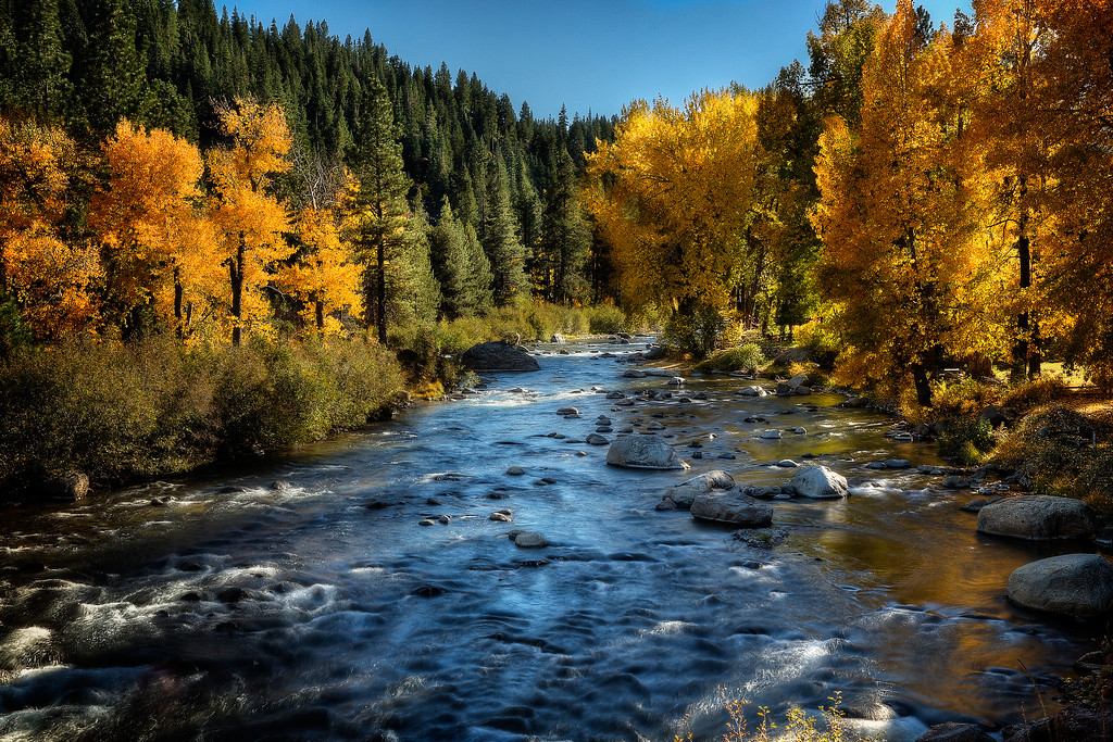 The River Falls in Autumn